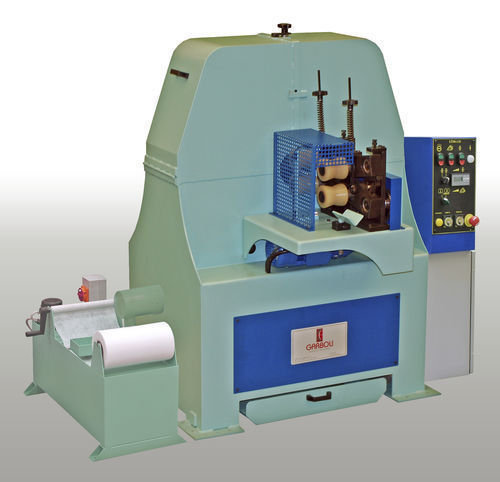 Lt 130 w orbital grinding machine satin and polishing by garboli