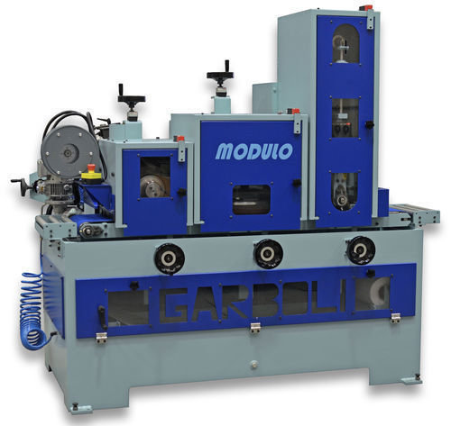 Gps modulo angular grinding machine with belt and deburring by garboli
