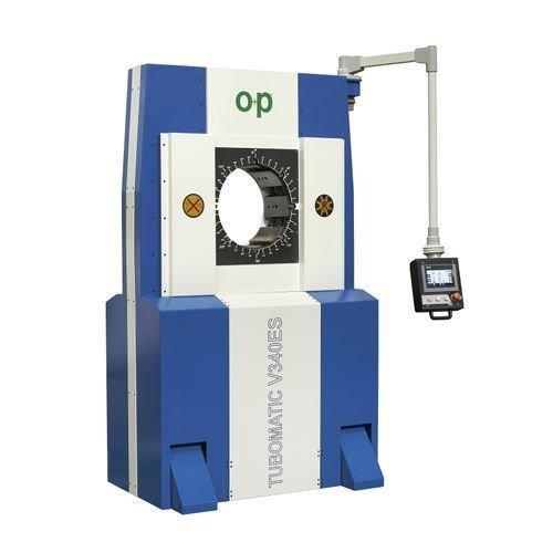 Tubomatic v340 eshose crimping machine hydraulic by op