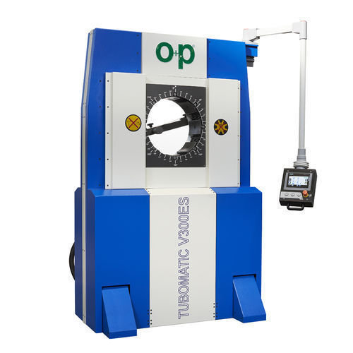 Tubomatic v300es hose crimping machine hydraulic by op