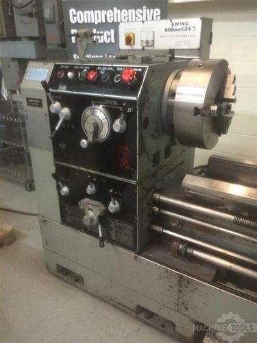 1993 sharp 24x120 gap bed lathe pic   2