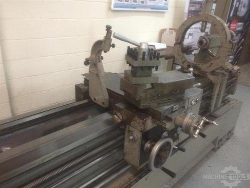 1993 sharp 24x120 gap bed lathe pic   6