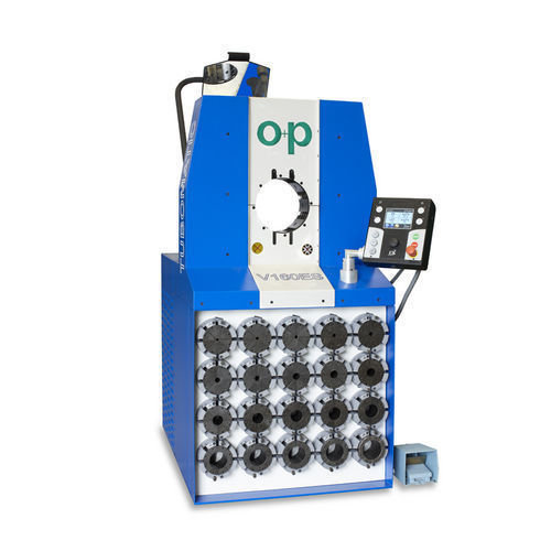 Tubomatic v160e hose crimping machine hydraulic by op