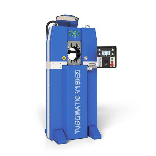 Tubomatic v150es hose crimping machine hydraulic by op
