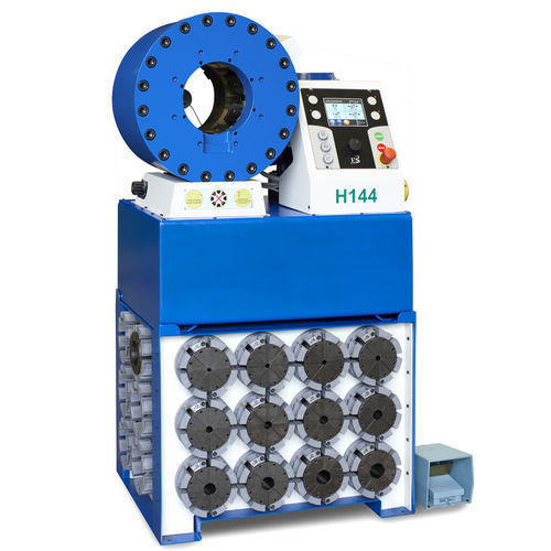 Tubomatic h144 es hose crimping machine for pipe hydraulic by op