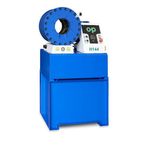 Tubomatic h144 el hose crimping machine hydraulic by op