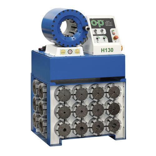 Tubomatic h130 el hose crimping machine hydraulic by op