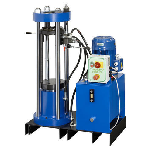 Tubomatic 2 65sel hose crimping machine vertical   column type by op