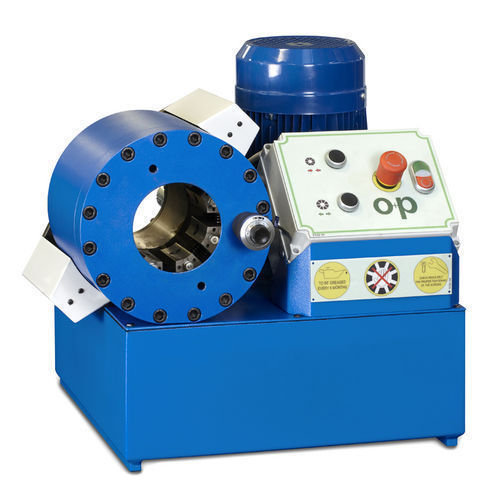 Tubomatic h83 eel hose crimping machine hydraulic by op