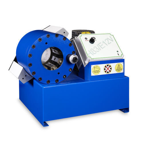 Tubomatic h83 e12v hose crimping machine hydraulic by op