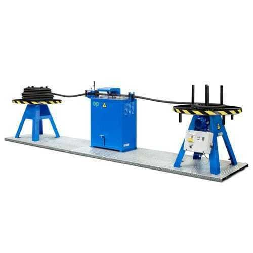 Hose cutting line by op