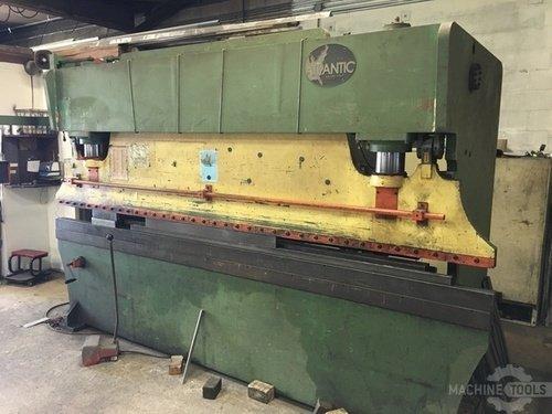 Used 12 x 135 ton atlantic press brake 2