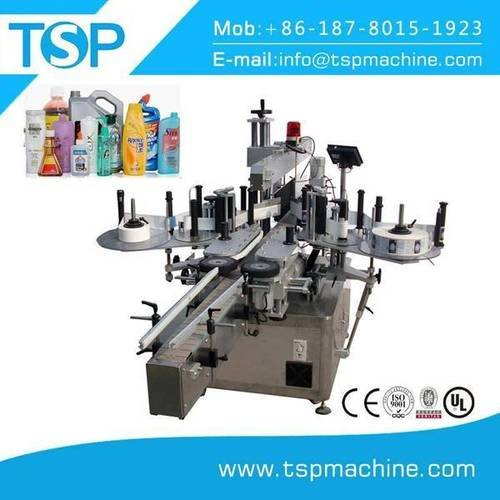 Double side stick labeling machine