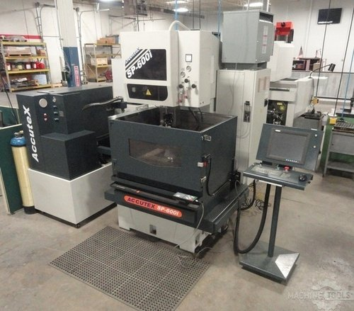 Accutex model sp 600i cnc wire edm