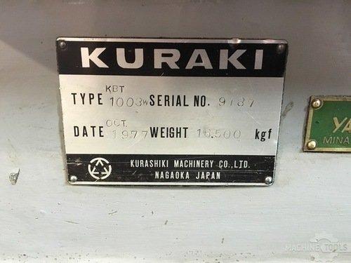 16036 kuraki kbt 1003w name plate
