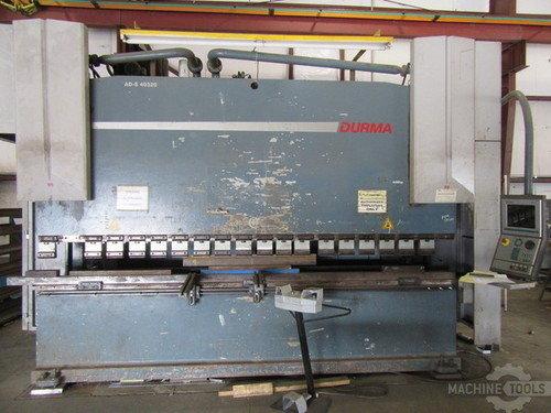 13 x350 ton durma ad s 40320 cnc hydraulic press brake 2668a