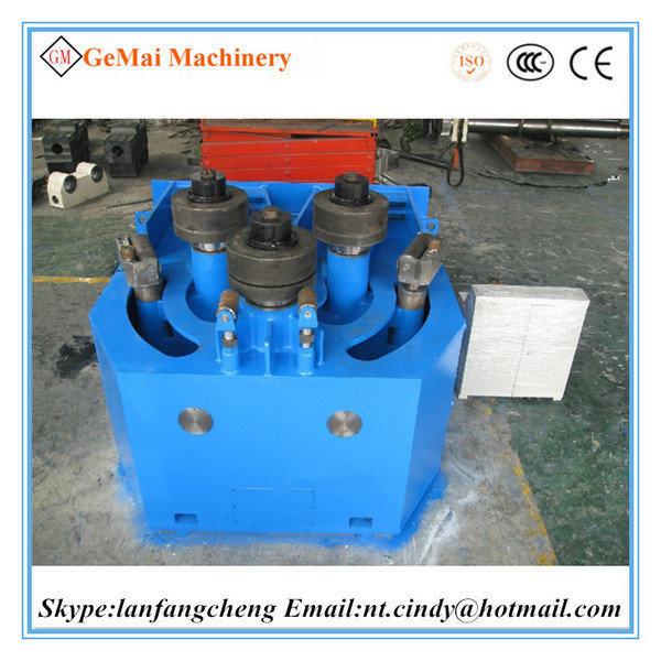 Horizontal profile bending machine