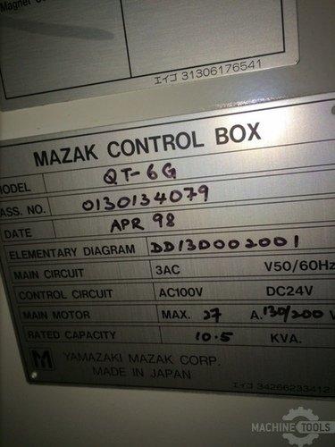 Mazak control box