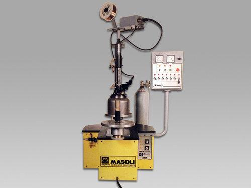 Soldadora automatica mig para anillo corta valvula cilindors gas