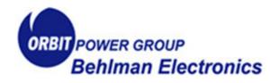 Orbit Power Group | Behlman Electronics