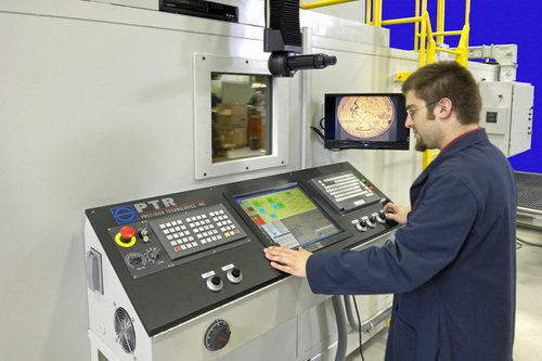 Operator at ebw console