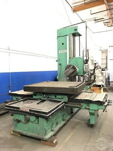 Used ikegai da2115t horizontal boring mill