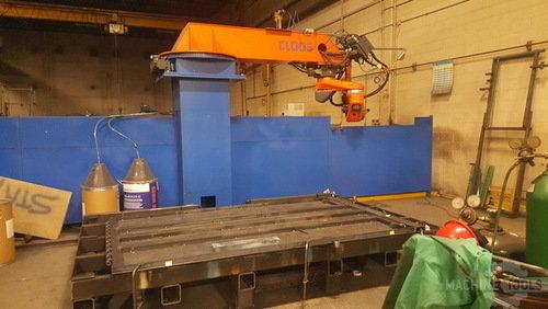 2011 cloos 6 axis robotic welder