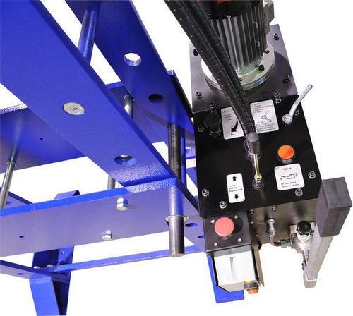 Hydraulic workshop press unit