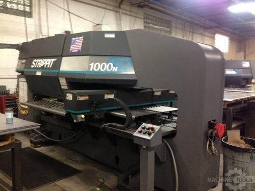 33 ton strippit 1000h30 cnc turret punch a