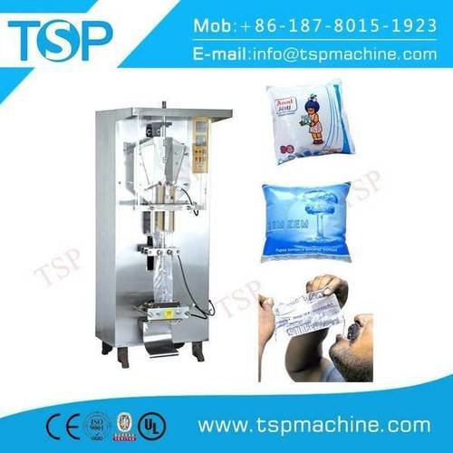 Small bag filling and sealing machine