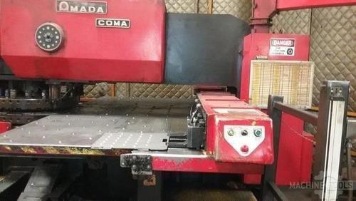 Amada punch load station