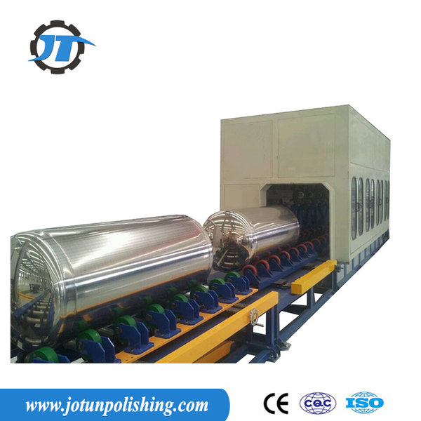 Lng tank polishing machine