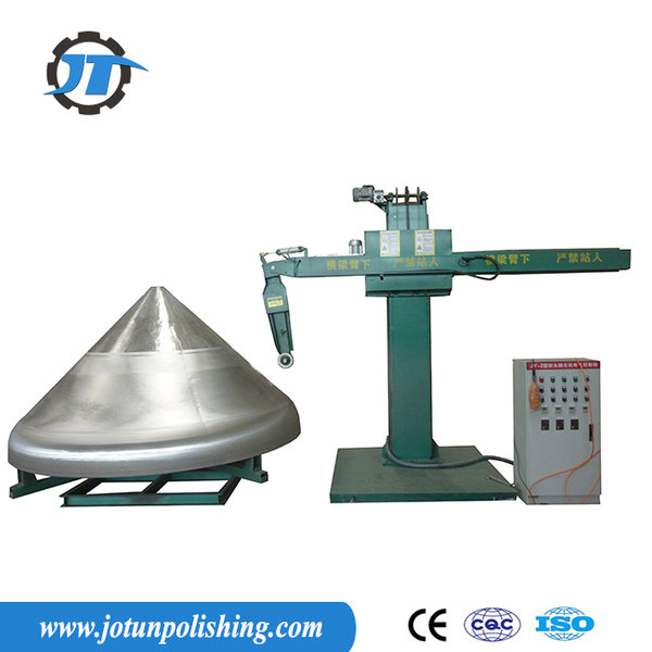 Mixing tank grinding machine