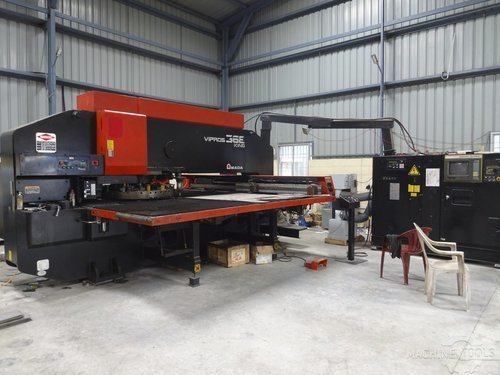 Left view for amada vipros 368 king machine