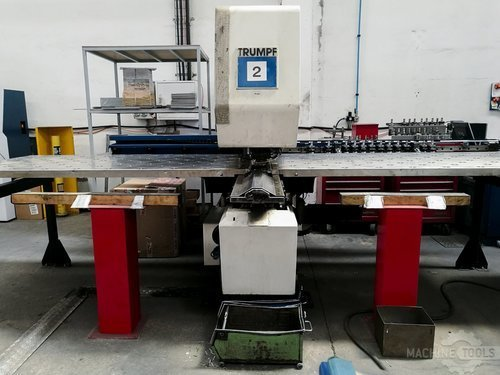 Front view for trumpf trumatic 160 r machine