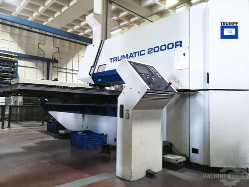 Right view 1 of trumpf trumatic 2000 r machine