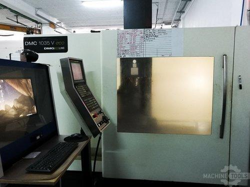 Front view for dmg dmc 1035 v eco machine