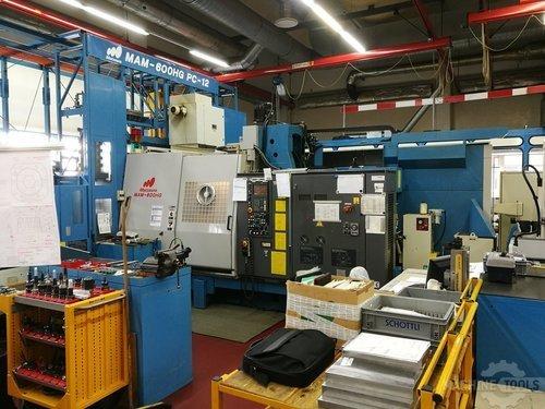 Front view for matsura mam 600 machine