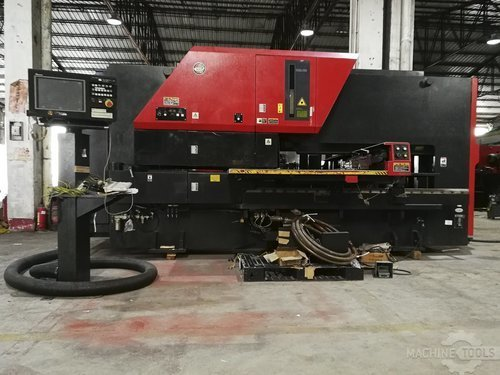 Front view for amada vipros 255nt machine