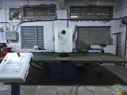 Front view for boschert compact 750 cnc z machine