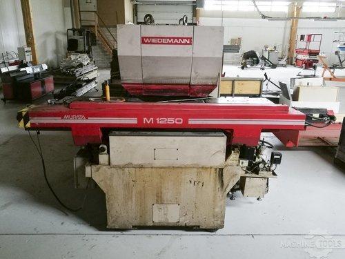Front view for murata wiedemann m 1250 machine