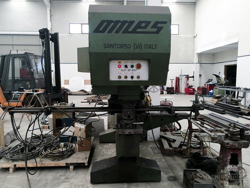 Front view for omes ilci 10 scf machine