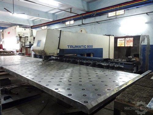 Right view for trumpf trumatic 500 machine