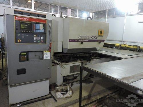 Left view of murata wiedemann c 2500 machine