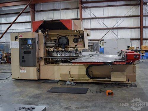 Front view of murata wiedemann c 3000 q machine