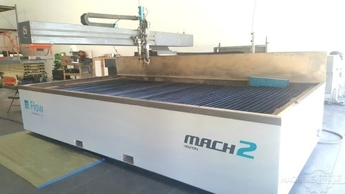 FLOW MACH 2 4020B Waterjet Cutters Used - Excellent #414764