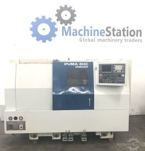 Used daewoo puma 8hc cnc turning center machinestation usa