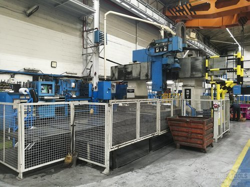 Right view of dye fpf 2 n c machine