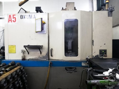 Front view of okuma ma 50ha machine