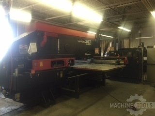 33 ton amada vipros 367 queen cnc turret punch a